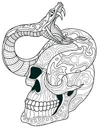 Skull Printable Sugar Skull Printable Skull Coloring Sheets Of The