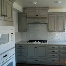glass subway tile iridescent bright white 3 x 6 piece with gray grout