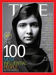malala yousafzai was on the cover of time magazine s 100 most influential people list in 2018