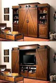 barn door media center. Sliding Door Entertainment Center Barn Media Cabinet Extremely Ideas Open The . E