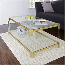 everly quinn clear glass coffee table clear coffee table tray
