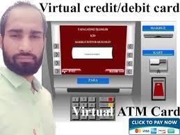 create virtual credit or atm card