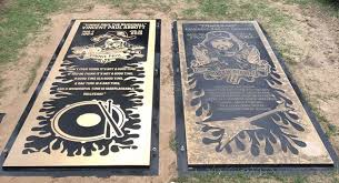 pantera drummer vinnie paul s memorial marker placed at texas grave site revolver