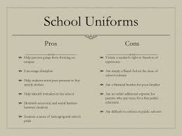dress code policy school uniforms