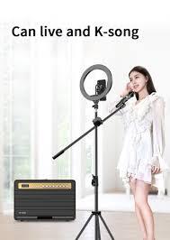 Loa Karaoke Bluetooth công suất lớn 120W 2 mic không dây Wking - Hàng chính  hãng - Loa karaoke Thương hiệu W-King