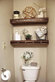 Decorative Bathroom Shelving 25 Best Ideas About Shelves Over Toilet On Pinterest Bathroom