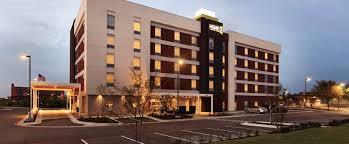 home2 suites by hilton austin round rock hotel tx exterior at dusk