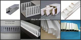 plastic pvc electrical wire gutter