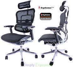 Ergohuman Plus Ergonomic fice Chair Ergonomic In Design With