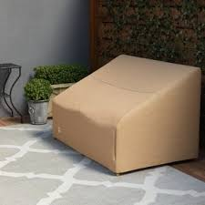 Cover for outdoor furniture Covered Patio Wayfair Basics Patio Sofa Cover Birch Lane Outdoor Furniture Covers Birch Lane