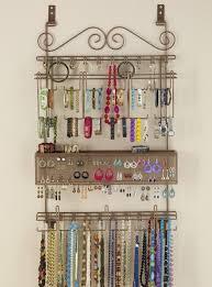 Wall Jewelry Organizer Hanging Jewelry Organizer Mycosmeticorganizercom