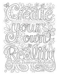 Small Picture Coloring page from Thaneeya McArdles Good Vibes Coloring Book