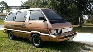 1984 Toyota Van Wagon Le Mini Passenger Van 3 - Door 2. 0l 1998cc ...