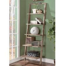 image ladder bookshelf design simple furniture. Simple 5 Tier Leaning Bookcase Design Ideas Image Ladder Bookshelf Furniture B