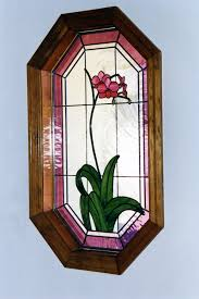 octagon stained glass window gallery painted light