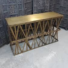 iron console table. Iron Console Table