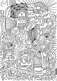 Small Picture Hard Design Coloring Pages Coloring Pages
