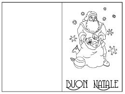 Biglietti Buon Natale Da Colorare Mamma E Casalinga