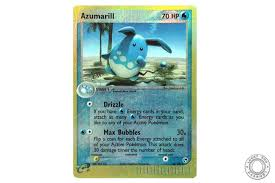 Light Azumarill Holo Lucky Egg Cards Azumarill Ex Sandstorm 30 100 Reverse Holo