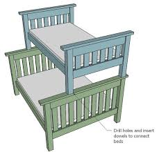 17 best ideas about pallet bunk beds on kids