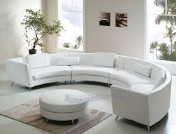 leather curved sofa semi circular sofas sectionals curved sectional