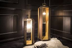 Light Cube Floor Lamp Floor Lamp Traditional Glass Wooden Cube By