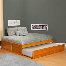 twin platform bed with trundle. Simple Full Size Trundle Bed With Twin Second Mattress Platform