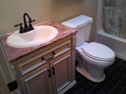 Diy Bathroom Remodel Big Items Like The Vanity Top And Tile Can - Bathroom vanity remodel