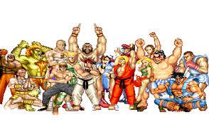 super street fighter ii foto de familia el hadoken de ryu el