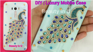 Mobile Cover Designs Handmade Diy Luxury Designer Handmade Mobile Phone Case For Iphone Or Any Mobile Making At Home Tutorial