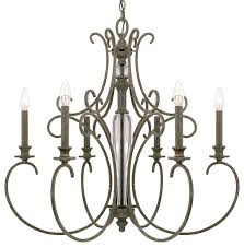 capital lighting everleigh collection 6 light chandelier french greige terranean chandeliers