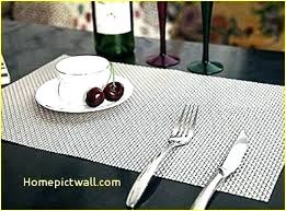black round placemats full size of black slate table mats round faux leather for sweet pea