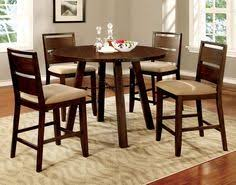 furniture of america hockenberry 5 piece counter height round dining table set the furniture of america hockenberry 5 piece counter height round dining