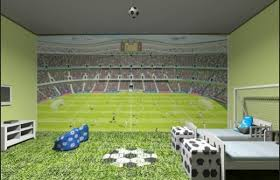 Soccer Decorations For Bedroom Photo   1