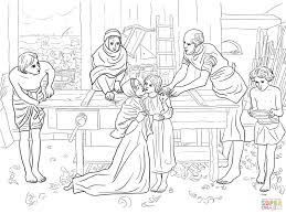 Small Picture Jesus Boy in the House of His Parents coloring page Free
