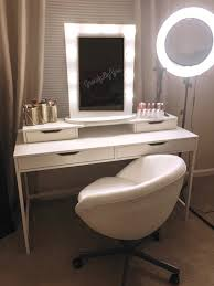 Table Ring Light For Makeup Alex Desk Alex Add On Chende Hollywood Mirror Neewer Ring