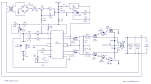 pwm inverter circuit based on sg3524 12v input 220v output 250w 250w pwm inverter circuit