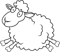 Sheep Template Printable Free Farm Animal Templates Print Mask Lamb
