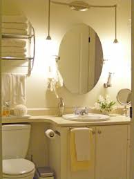 bathroom above mirror lighting. Bathroom Ideas Frameless Oval Home Depot Mirrors Above For Lighting Disegn Single Sink Vanity And Toilet Also Two Pendant Lamps Powder Room Mirror