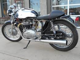 1962 triton vintage cafe racer motorcycle sold vintage motors of