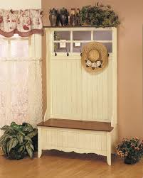 Hat And Coat Rack Tree Hall Tree Storage Bench With Mirror Two Drawers Storage Twigs Hook 79