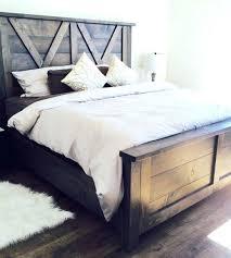 homemade wooden beds. Interesting Wooden Homemade Wood Bed Wooden Beds Barn Door Farmhouse  Diy For Homemade Wooden Beds D