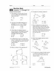 Using midpoint and distance formulas. Extra Final Review Questions 2015 Name Lama Section Quiz Lessons 7 1 Through 7 3 Choose The Best Answer 1 Date Class Two Points On A Line Are M 4 5 Course Hero
