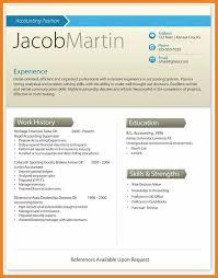 Modern Resume Template Teller Resume Sample