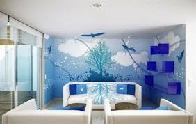 Small Picture Room Paint Designs Brilliant Ideas Paint Designs For Walls Lofty