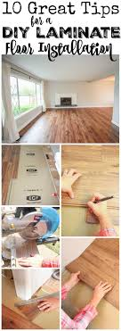 how to install laminate flooring. 10 Great Tips For A DIY Laminate Floor Installation At Thehappyhousie.com How To Install Flooring R