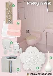 pink retro tiled bathroom