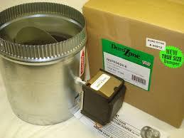 damper motor durozone hvac motorized electric zone control 24ac power damper dampner 4 inch