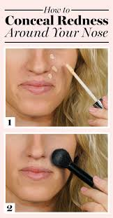 conceal redness around your nose