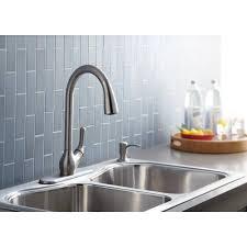 Kohler Barossa Kitchen Faucet Kohler Barossa Single Handle Pull Down Kitchen Faucet In Vibrant